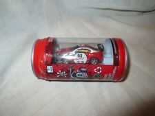 Mini RC Car in a Can with Charger & Remote, Headlights Light Up, Car Racers
