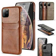 Funda billetera de cuero para iPhone 11 Pro XS Max XR 6 7 8 Plus tarjeta carcasa