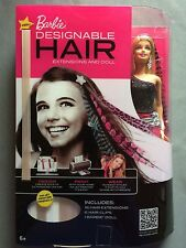 Barbie Blonde Designable Hair Extensions & Doll - 2011 Mint New In Box