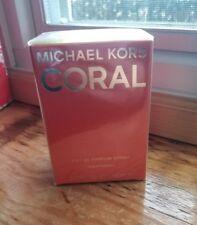 MICHAEL KORS CORAL EAU DE PARFUM SPRAY 1.7oz~50ML NEW IN BOX SEALED ⭐QUALITY A+✔