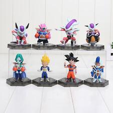 8pcs/set Dragon Ball Z Frieza Freeza Freezer 3 Forms Zarbon Dodoria Soldier