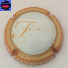 Capsule de Champagne FOREST REGIS Contour Orange Fond Blanc NR !!!