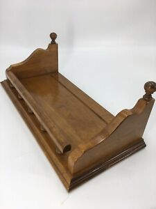 Stunning Old Style Vintage Ethan Allen Wall Shelf Book