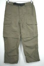 The North Face Men's Small Short Outdoor Nylon Convertible Hiking Camping Pants