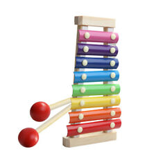 Multi color Wooden 8-Notes Xylophone Piano Musical Instrument Toys