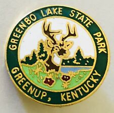 Greenbo Lake State Park Greenup Kentucky Pin Badge Vintage (C22)