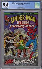 Spider-Man Storm & Power Man #nn CGC 9.4 NM Wp Marvel 1982 Cancer Society Promo