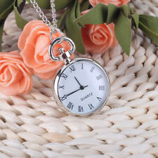 Vintage Steampunk Retro-Design Pocket Watch Pendant Necklace Lovers Gifts Hot