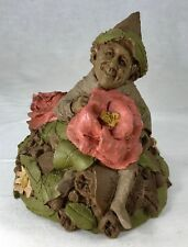 "Tom Clark Gnome Nunny with Flowers #2006 Edition #90 Cairn 9.5"" COA & Story Card"