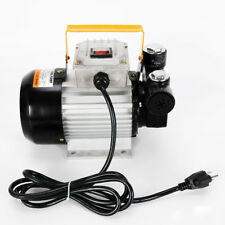 New listing 110v Ac 60L/Min Oil Diesel Fuel Transfer Pump Self Priming Professional 15.75Gpm