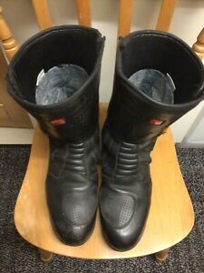 Hein Gericke Leather and Goretex Motorcycle boots Gore - Tex  EUR 46/UK 11