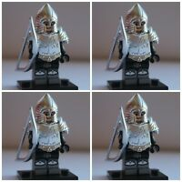 Lord Of The Rings Gondor Soldiers  The Hobbit Toy Mini Figures use with lego 10