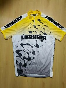 Liebherr Cycling Jersey Top L by Dee Bike Made in Italy