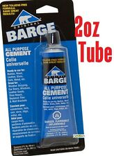 Barge All-Purpose Rubber Cement Glue Toluene Quabaug T/F Tube 2-oz (59-ML)