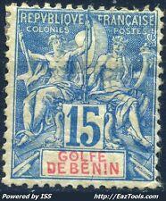 GOLFE DE BENIN TYPE GROUPE N° 25 NEUF * AVEC CHARNIERE