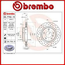 09.7702.1X#5 DISCO FRENO POSTERIORE SPORTIVO BREMBO XTRA BMW 3 (E46) 325 i 141 K