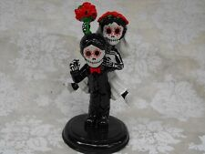 Day of the Dead WEDDING CAKE TOPPER - Funny Couple