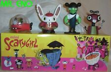SCARYGIRL BOXED SET NEW SCARY GIRL BUNNIGURU ZOMBIE TOY Cat Nathan Jurevicius