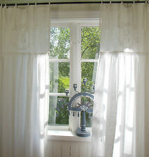 gardinen aus 100 baumwolle mit schlaufenaufh ngung f rs wohnzimmer g nstig kaufen ebay. Black Bedroom Furniture Sets. Home Design Ideas