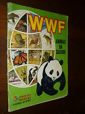 ALBUM FIGURINE WWF Animali da Salvare Ed. PANINI 1986 COMPLETO - 28 - BUONO + !!