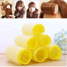 New Hairdress Magic Bendy Hair Styling Roller Curler Spiral Curls DIY Tool 6 Pcs
