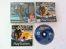 Le Monde Ne Suffit Pas 007 James BOND Sony playstation 1 PS1 PAL FR