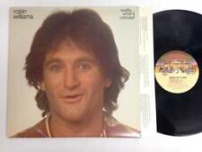 ROBIN WILLIAMS LP: Reality...What A Concept, OG 1979 Casablanca Comedy
