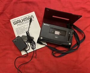 Sony Walkman Professional WM-D6 Stereo Cassette-corder WORKING!
