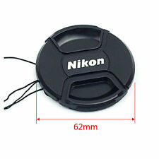 62mm Nikon Lens Cap Cover Keeper Front for Canon Nikon D5 D800 D3200 D5200 D7100