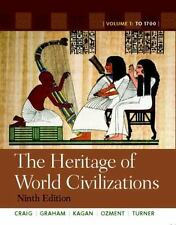 The Heritage of World Civilizations: Volume 1 (9th Edition) by Albert M. Craig,