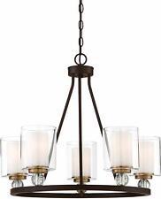 Minka Lavery Chandelier Pendant Lighting 3075-416 Studio 5 Dining Room Fixture