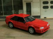 Third generation 1979–1993 Fox Body Ford Mustang 5.0 GT 1/64 Scale Lmited Ed W4