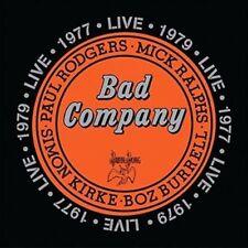 Bad Company (rock Group) Live 1977 & 1979 Double CD European Rhino 2016 30