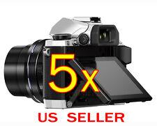 5x Olympus OM-D E-M5 /E-M10 MarkII Clear LCD Screen Protector Guard Shield Film