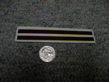 Herald King decals HO Erie Lackawanna maroon yellow 2.25' wide stripes    XX145