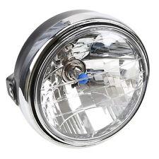 Universal 8'' Round Motorcycle Headlight Head Lamp For HONDA HARLEY SUZUKIUK