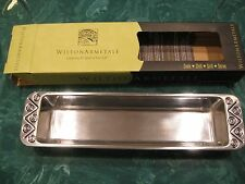 WILTON ARMETALE * REGGAE DESIGN * CRACKER TRAY NEW IN BOX * NEW IN BOX *