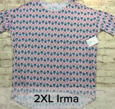 LuLaRoe 2XL Irma Tunic Top Shirt Aztec Geometric Leggings Material Unicorn XXL