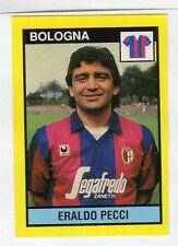 figurina IL GRANDE CALCIO VALLARDI 1988/89 NUMERO 43 BOLOGNA PECCI