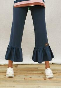 Womens Matilda Jane Just Imagine Sofia Big Ruffle Navy Pants Size XL X Large NWT