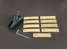 Fret Press Caul With 9 Inserts - Fit Arbor Press/Drill Press, Self-Leveling