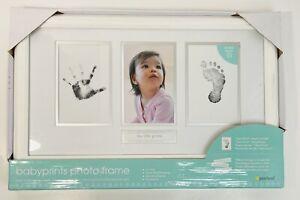 NEW pearhead babyprints Baby Photo Frame My Little hand foot prints No Mess NIB