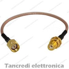 Cavo RF 10cm con SMA MASCHIO FEMMINA PIGTAIL IPEX cavo di estensione presa spina