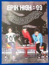 Epik High - 99 7th Album Hard Tube Case Official Poster New K-POP