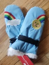 NWT Hanna Andersson BLUE THERMOLITE RAINBOW SUN MITTENS SMALL 1 2 3 80 85 90