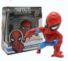 MARVEL/ SPIDERMAN 10 CM METALS DIE CAST-CLASSIC SPIDER-MAN IN BOX