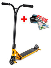 Slamm Urban VII Extreme Complete Stunt Scooter - Gold + FREE STICKERS/WRISTBAND