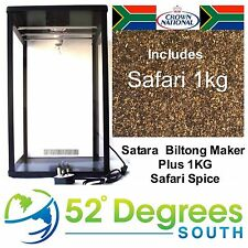 Satara Biltong Maker with 1kg Spice Biltong Box Beef Jerky Dehydrator