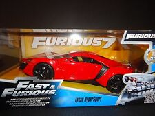 Jada Lykan Hypersport Red Fast and Furious 97377 1/24