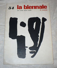 LA BIENNALE DI VENEZIA ARTE CINEMA MUSICA TEATRO N.54 1964 RICHTER VERDONE